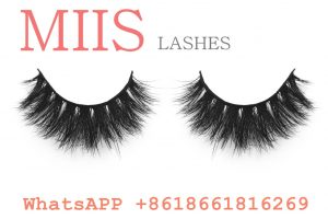 3D mink eyelash retail